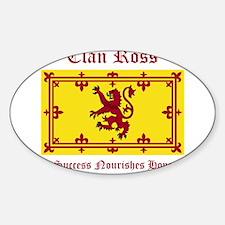 Ross Sticker (Oval)