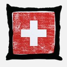 Switzerland Throw Pillow