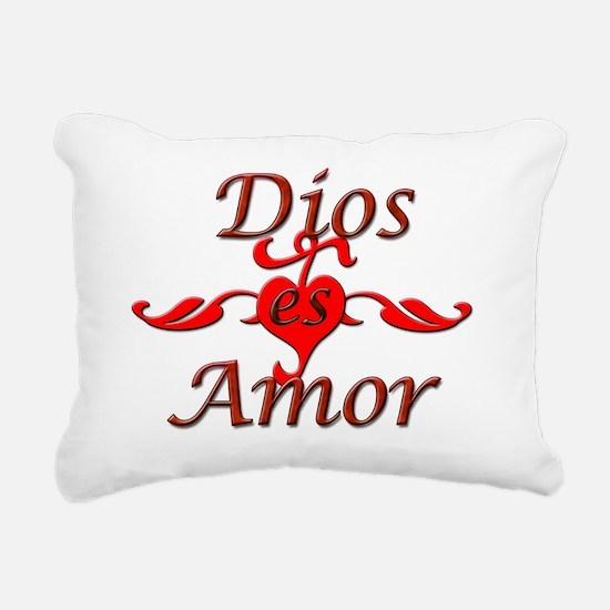 Dios Rectangular Canvas Pillow