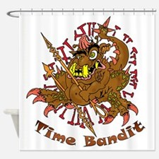 TIME BANDIT Shower Curtain