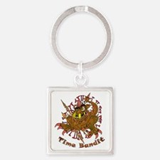 TIME BANDIT Square Keychain