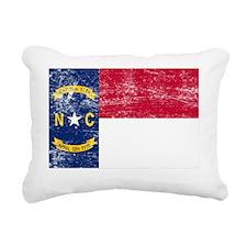 North Carolina Rectangular Canvas Pillow