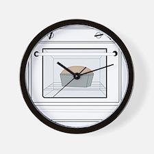 bun-in-the-oven Wall Clock