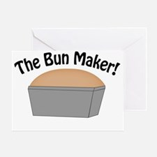 The-Bun-Maker Greeting Card
