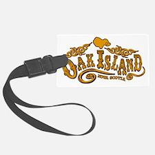 Oak Island Saloon Luggage Tag