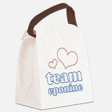 TE Canvas Lunch Bag
