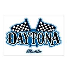 Daytona Flagged Postcards (Package of 8)