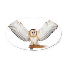 4D5Q2285_Great_Wings_Tspt_Garment Oval Car Magnet