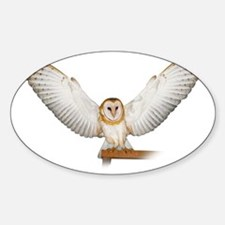 4D5Q2285_Great_Wings_Tspt_Garment Sticker (Oval)