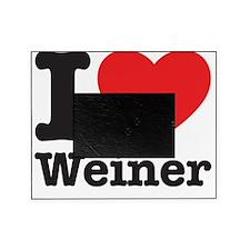 I Love Weiner Picture Frame