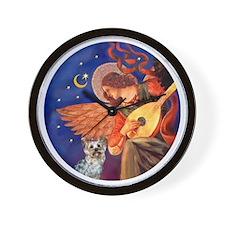 J-ORN-Angel3-Yorkie-T Wall Clock