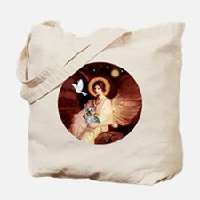 J-ORN-Angel1-Yorkie-T Tote Bag