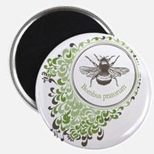 bumble_bee_grn_brn Magnet
