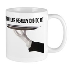 Its always the butler! Mug