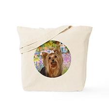 J-ORN-Garden-Yorkie7 Tote Bag