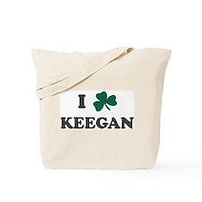 I Shamrock KEEGAN Tote Bag