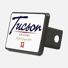 Tucson Script W Hitch Cover