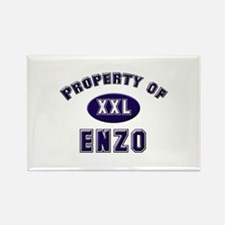 Property of enzo Rectangle Magnet