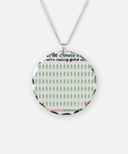 97 out of 100 climate expert Necklace