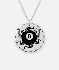 8_BALL_OCTOPUS_2.75x2.75_app Necklace
