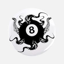 "8_BALL_OCTOPUS_2.75x2.75_apparel 3.5"" Button"