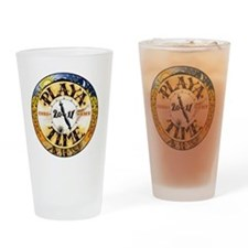 Playa Time Drinking Glass