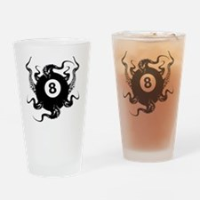 8_BALL_OCTOPUS_4x6_apparel Drinking Glass