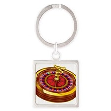 Roulette Wheel Keychains