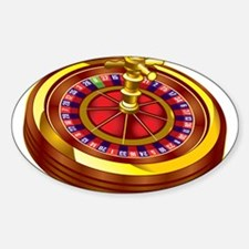 Roulette Wheel Decal