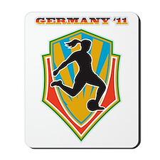 soccer woman germany 2011 Mousepad