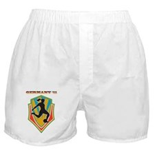 soccer woman germany 2011 Boxer Shorts