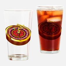 Roulette Wheel Drinking Glass