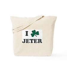 I Shamrock JETER Tote Bag