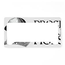 prosebeforehoes02 License Plate Holder