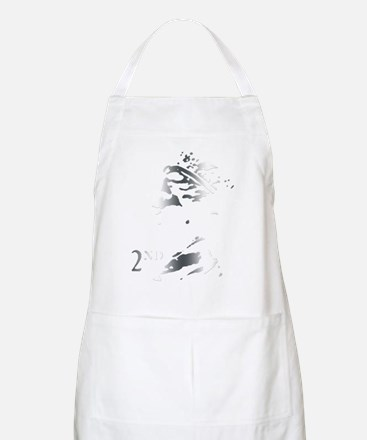 Silver postage stamp Apron