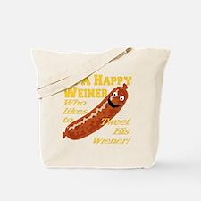 happy_weiner_transparent02 Tote Bag