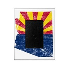 Arizona Flag Map Picture Frame
