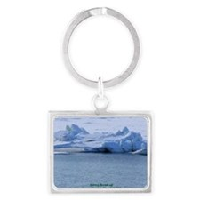 Nome Spring Breakup-LG Landscape Keychain