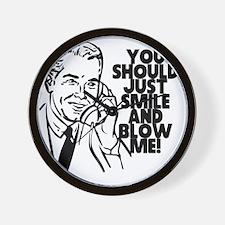 blowme Wall Clock
