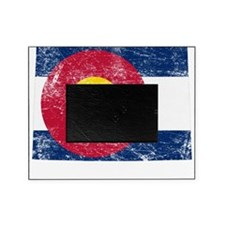 Colorado Flag Map Picture Frame