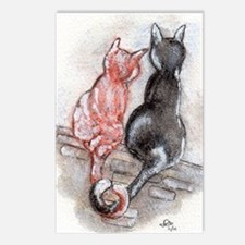 Cat Mates Postcards (Package of 8)