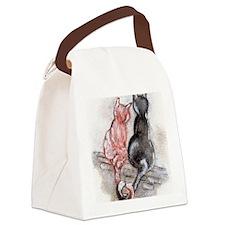 Cat Mates Canvas Lunch Bag