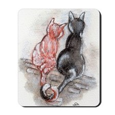 Cat Mates Mousepad
