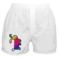 Rainbow Rabbit Boxer Shorts