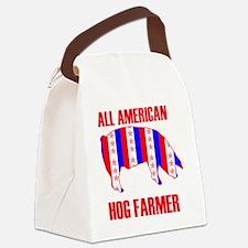 ALL AMERICAN HOG copy 2 Canvas Lunch Bag