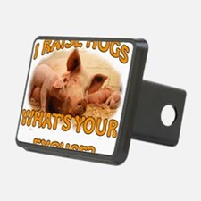 I RAISE HOGS Hitch Cover