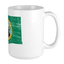 Washington Flag Map Mug