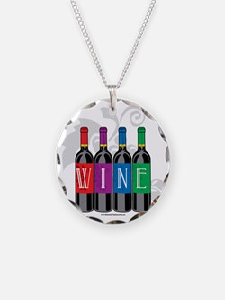 Wine-Bottles Necklace