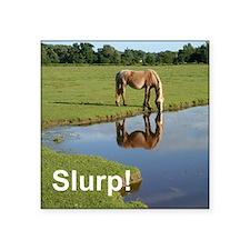 """Slurp water bottle Square Sticker 3"""" x 3"""""""