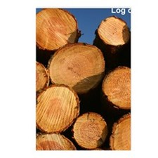 Logs iPad case Postcards (Package of 8)